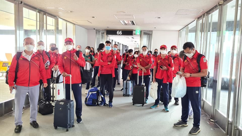 Đoàn Việt Nam đổ bộ Nhật Bản, nhập làng Olympic Tokyo