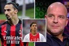 Ibrahimovic tát đồng đội vì... hôn lên môi anh