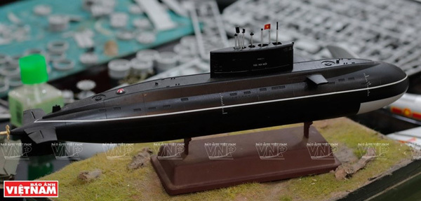 Vietnam's military history reappears through scale models
