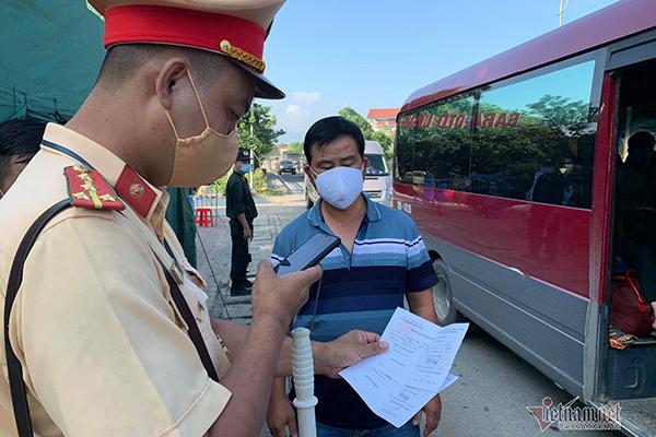 Người về Thái Bình phải có kết quả xét nghiệm âm tính SARS-CoV-2