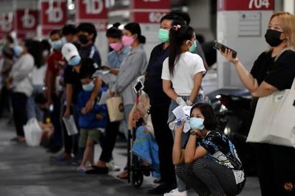 Thái Lan ngày thứ 4 liên tiếp ghi nhận số ca nhiễm Covid-19 kỷ lục