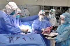 Thai phụ mắc Covid-19 suy hô hấp đã sinh thường con gái khỏe mạnh