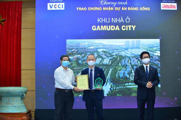 Gamuda City lập hattrick với 3 giải thưởng Dự án đáng sống 2021