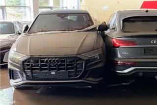 Loạt xe Audi hỏng nặng sau khi bị ngập trong nước