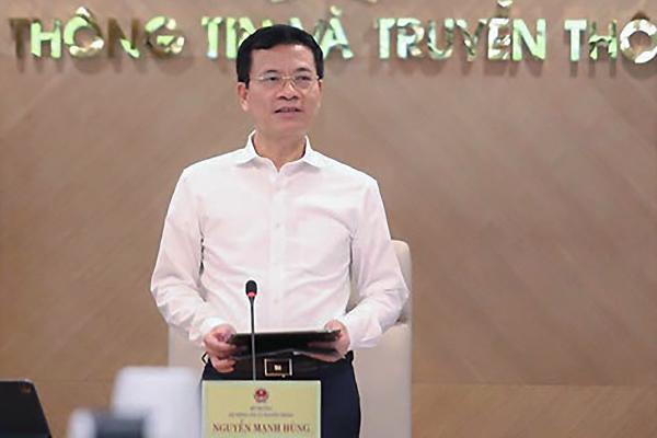 Phát biểu của Bộ trưởng Nguyễn Mạnh Hùng tại hội nghị sơ kết 6 tháng đầu năm