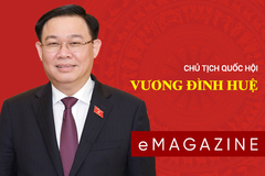 Chân dung Chủ tịch Quốc hội khóa XV Vương Đình Huệ