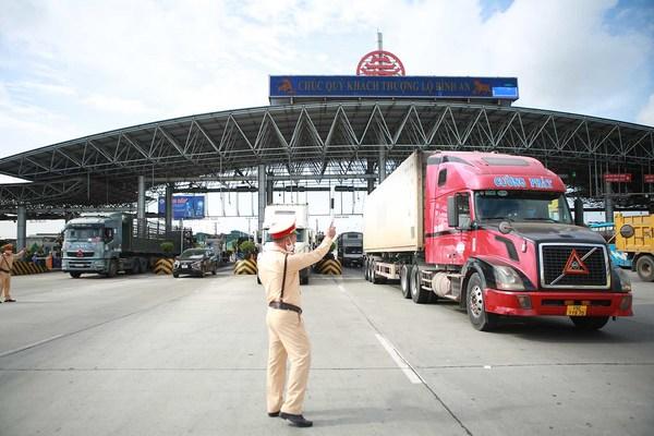 Cục CSGT đề nghị lên phương án đảm bảo lưu thông nhanh nhất