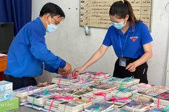 Gần 1.000 đầu sách được đưa vào khu cách ly, phong tỏa