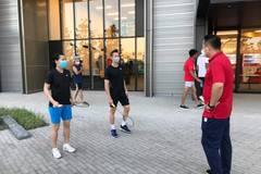 Hoàng Xuân Vinh, Tiến Minh tranh thủ 'luyện công' ở làng VĐV Olympic