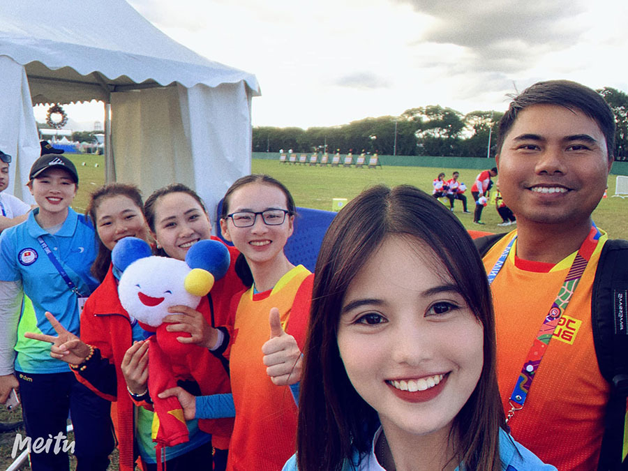 Vẻ đẹp hút hồn của nữ cung thủ Việt Nam dự Olympic Tokyo