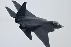 Điểm yếu trên chiến cơ tàng hình Trung Quốc