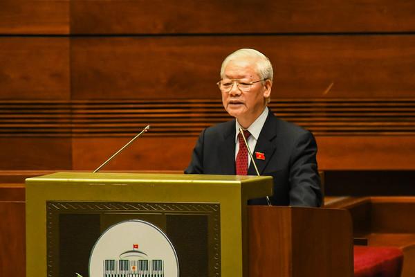 Phát biểu của Tổng Bí thư tại phiên khai mạc Quốc hội khoá XV