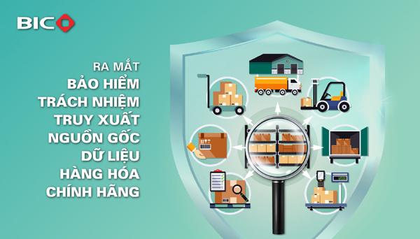 Đã có bảo hiểm trách nhiệm truy xuất nguồn gốc dữ liệu hàng hóa chính hãng