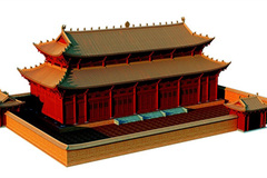 Ly Dynasty palace recreated to showcase the splendour of ancient architecture
