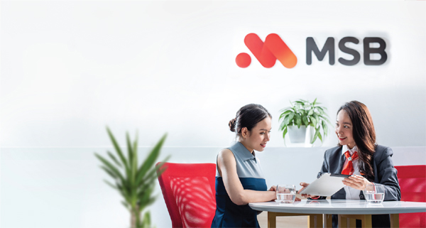 MSB ra mắt thẻ tín dụng cho doanh nghiệp với hạn mức 4 tỷ đồng