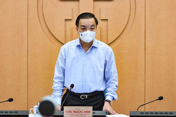 Chủ tịch Hà Nội: Nguy cơ dịch bệnh hiện rất cao, không thể chủ quan