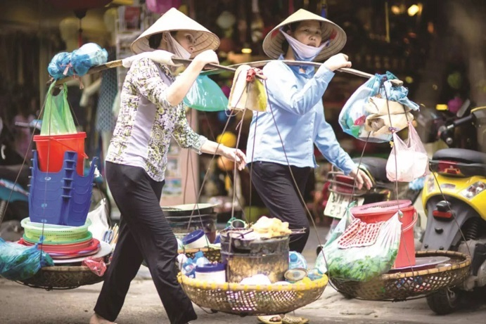 Pandemic-hit workers anxiously wait for aid