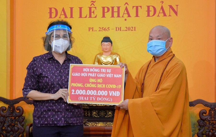 Kêu gọi Tăng Ni, Phật tử phát tâm ủng hộ phòng, chống dịch Covid-19