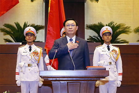 Cam kết của ông Vương Đình Huệ ở lần thứ hai nhậm chức Chủ tịch Quốc hội