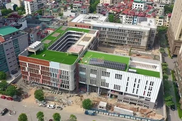 Cơ sở mới đẹp lung linh của Trường THCS Cầu Giấy