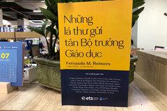 Ra mắt cuốn sách 'Những lá thư gửi tân Bộ trưởng Giáo dục'