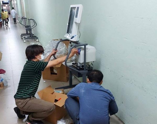 VPBank hỗ trợ gấp 715 máy thở cho các tỉnh, thành phía Nam