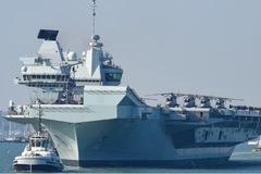Anh triển khai hai tàu chiến thường trực ở vùng biển Châu Á