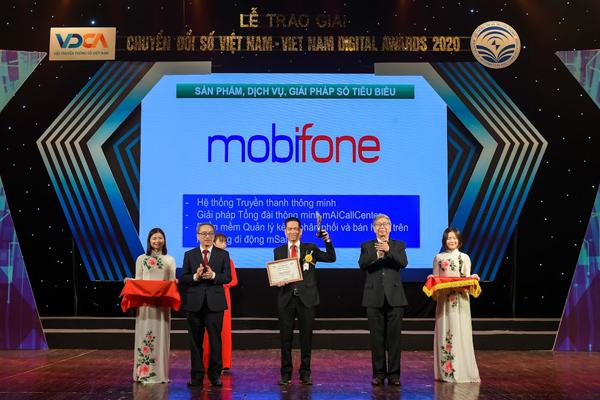 MobiFone vào Top 10 doanh nghiệp CNTT-VT uy tín năm 2021