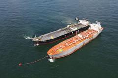 PVGAS Trading tiếp nhận chuyến tàu LPG lạnh đầu tiên về kho nổi miền Bắc