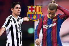 Barca dùng Griezmann đổi lấy Dybala