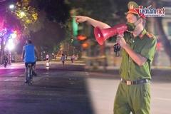 Công an canh gác xuyên đêm: Người dân 'né' chốt, đi thể dục lúc 3h sáng