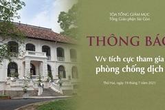 TPHCM: Các tu sĩ tình nguyện sẽ đến các bệnh viện chăm sóc bệnh nhân Covid-19