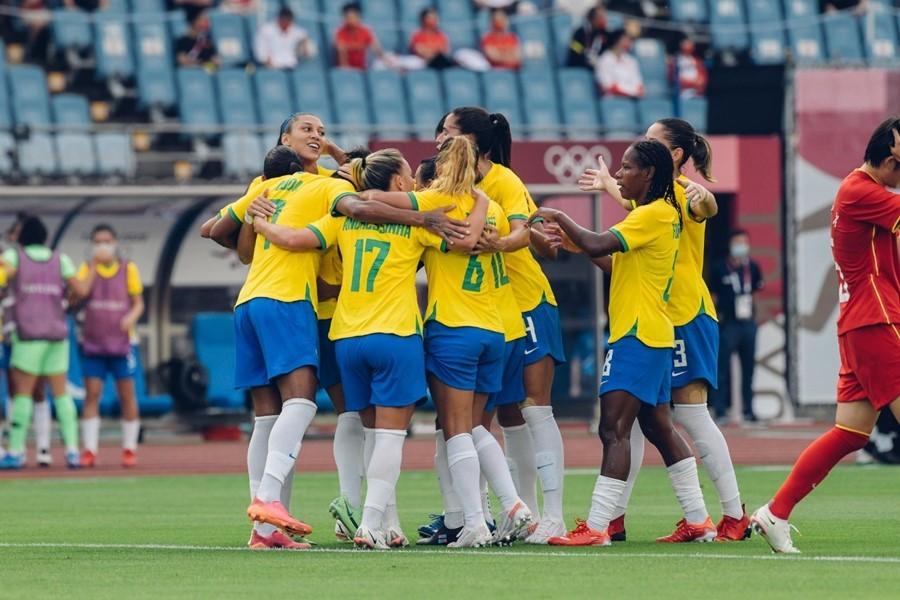 Link xem trực tiếp bóng đá nữ Olympic Brazil vs Hà Lan