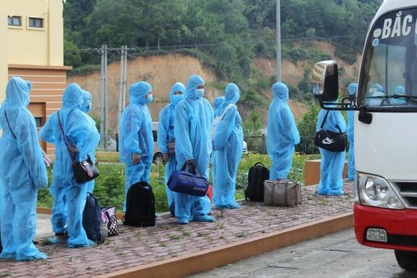 Thanh Hóa đón công dân ở các tỉnh phía Nam về quê