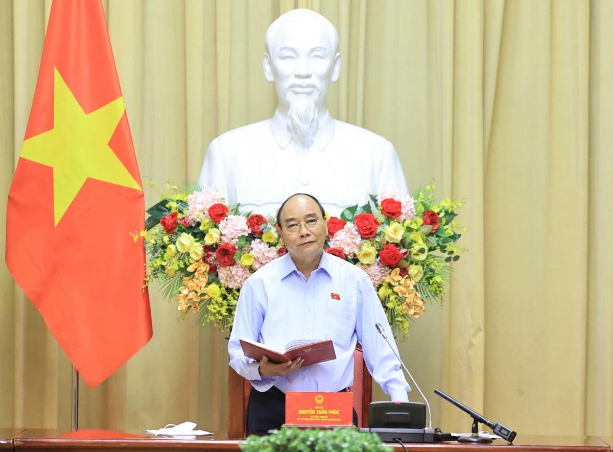 Chủ tịch nước làm việc với Hội Hỗ trợ gia đình liệt sĩ và Hội Nạn nhân chất độc da cam/dioxin Việt Nam
