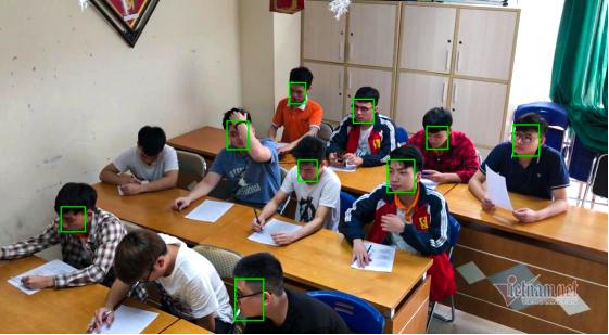 Sinh viên làm hệ thống phát hiện gian lận thi cử nhờ công nghệ AI