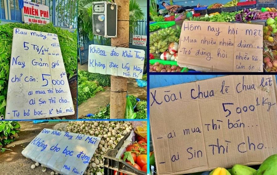 Bán rau đột biến miễn phí, Minh Râu Đồng Nai lại nhắn tin nức lòng người