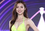 Thí sinh Hoa hậu Hong Kong 2021 trình diễn bikini
