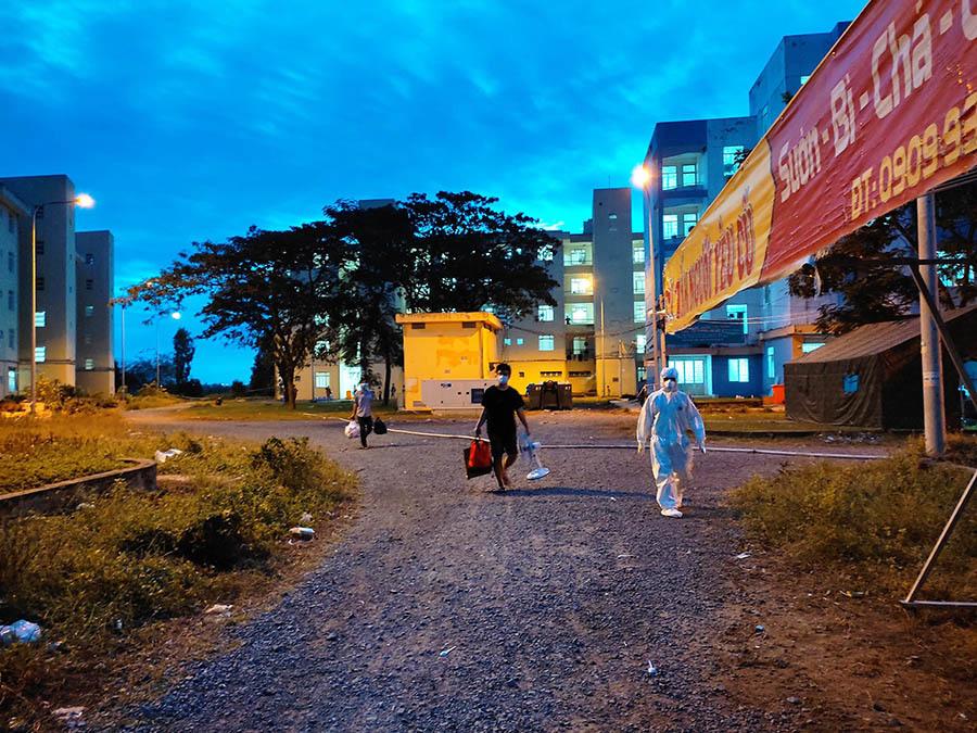 200 bệnh nhân Covid-19 ở Bệnh viện dã chiến số 4 TP.HCM xuất viện