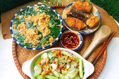 Gợi ý mâm cơm gia đình cho bữa ăn mùa hè