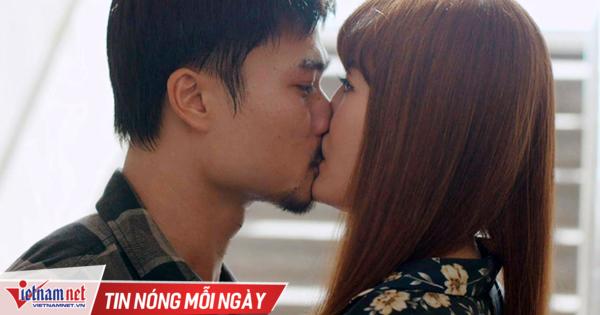 Nụ hôn của Đồng 'cục súc' và Lệ gây sốt 'Mùa hoa tìm lại'