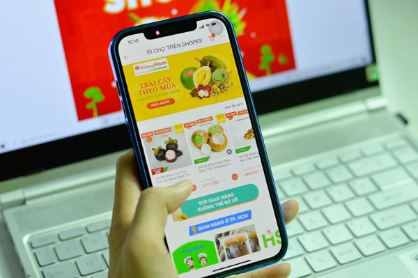 Đi chợ Shopee - kênh mua sắm thực phẩm online tiện lợi