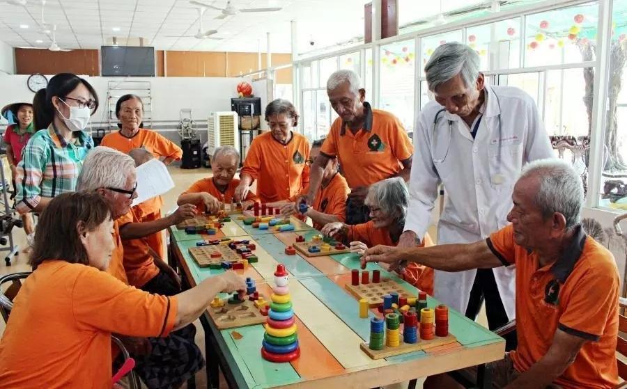 nursing homes,the elderly,population aging
