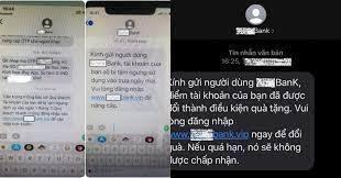 Giả mạo tin nhắn thông báo biến động số dư lừa đảo 4000 người