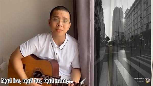 Teacher's song for Sai Gon goes viral
