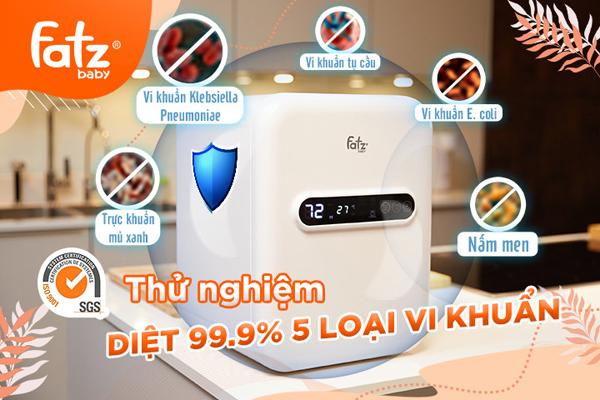 UV Fatzbaby - 'trợ thủ' tiệt trùng tối ưu của các hot mom Việt