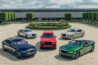 """Ngắm bộ sưu tập """"triệu đô"""" của Rolls-Royce"""