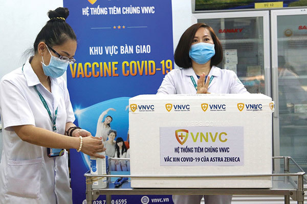Country prepares for efficient jab rollout