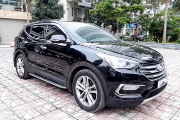 Hyundai Santa Fe 2018 tai nạn bán lại giá 650 triệu có nên mua?