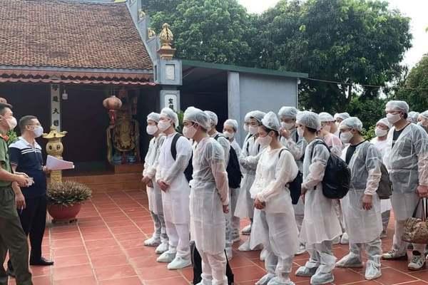20 người Trung Quốc nhập cảnh trái phép vào Hưng Yên